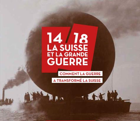 Logo exposition MAHN 14-18